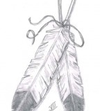 Eagle Feathers Tattoo - Tattoo Design Sketches