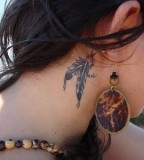 Feather Tattoos Design Art for Women