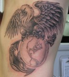 Eagle Globe And Anchor Tattoo Artists