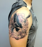 Cool Tattoo Eagle Globe And Anchor Tattoo