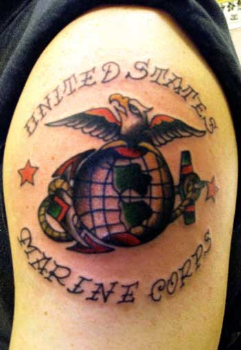 Tattoo Inspiration Eagle Globe And Anchor Tattoo