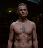 Eastern Promises Actor Viggo Mortensen Grand Tatto Design on Body