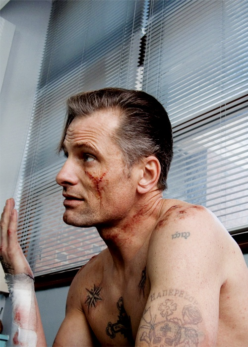 Eastern Promises Actor Tattoo on Body