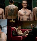 Awesome Viggo Mortensen Tattoo Design on Eastern Promises Movie
