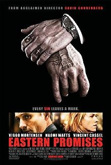 Eastern Promises Cover Hand Tattoo