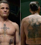 Eastern Promises Actor Tattoo on Body and Back