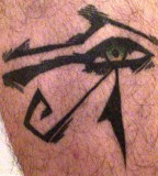 Egyptian Eye Of Horus Tattoo Design