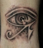 3D Eye Tattoos Design on Hand