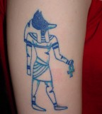 Egyptian Hieroglyphs Tattoos Design