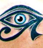 Tribal Huros Eye Tattoo Designs