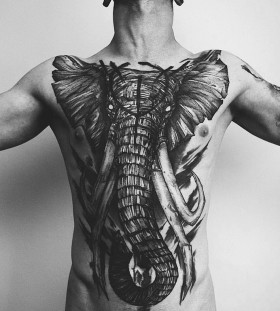 elephant-chest-tattoo-by-fredao-oliveira