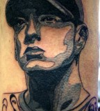 Amazing Eminem-Inspired Tattoo By Boogywoogy