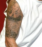 Amazing Eminem's Right Full Sleeve Meaning Tattoo