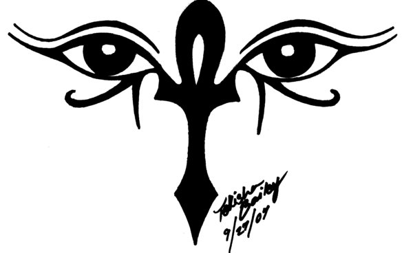 Ankh And Eyes Of Horus Tattoo By Rainbowmaker On Deviantart