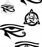 Celtic Eye Of Horus Tattoos By Ravenhartstock On Deviantart