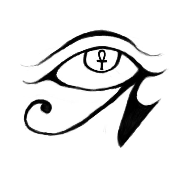 Eye Of Horus Tattoo Design By Obagaar On Deviantart