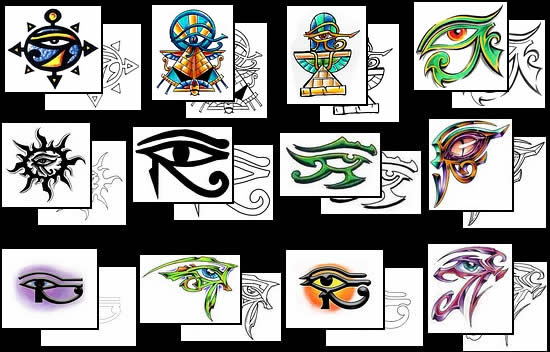 Eye Of Horus Tattoos What Do They Mean Tattoos Designs