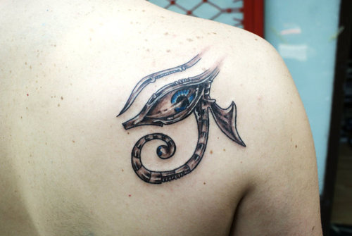The Eye Of Horus Eye Of Ra  Tattoo Picture At Checkoutmyink