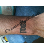 Ambigram Latin Saying Tattoos