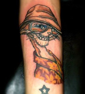 fear and loathing in las vagas tattoo1