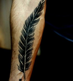 feather tattoos for men