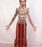 Filipino Tradistional Tribal Tribal Tattoo