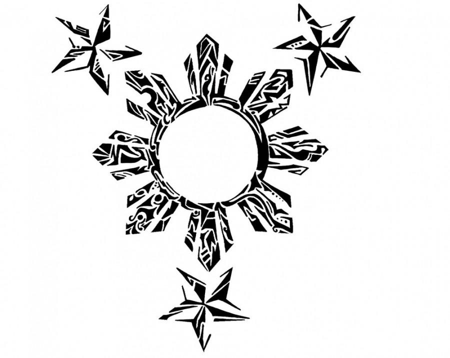 Chic Filipino Tribal Tattoo Design By Hamysart Tattoomagz