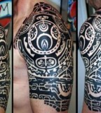 Beautiful and Exotic Filipino Tribal Tattoos For Men