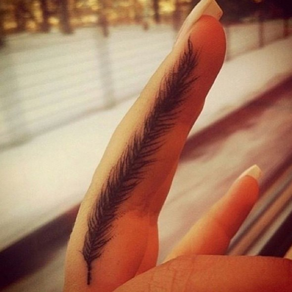finger feather2