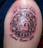 A List Of Amazing Firefighter Tattoos Ideas