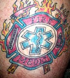 Ems Firefighter Tattoos And Symbol