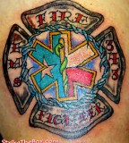 Firefighter Tattoos Design Symbol Of Bravery