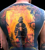 Amazing Firefighter Tattoos Full Body