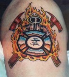 Firefighter Tattoos And Fire Department Tattoo Policies