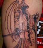 Grim Reaper Pirate Tattoo Pictures Gallery