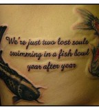 Koi Fish Tattoo Quotes Designs For Man
