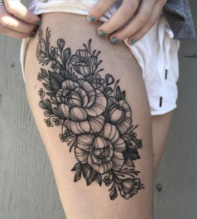 floral-tattoo-by-jodi-lyford