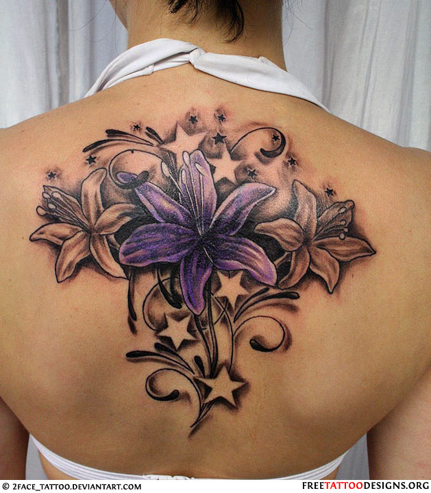 cbd8a3648 Female Beautiful Flower Tattoo Picture - | TattooMagz › Tattoo ...