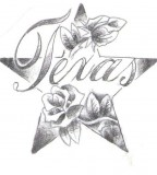 Star Tattoo Design - Sketch