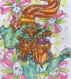 Angry Foo Dog Tattoos Designs