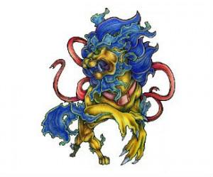 6a6a762998a14 Beautiful Asian Foo Dog Tattoo - | TattooMagz › Tattoo Designs / Ink ...
