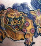 Foo Dog Tattoo Symbol