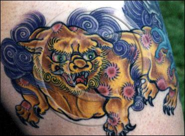 Foo Dog Tattoo Symbol