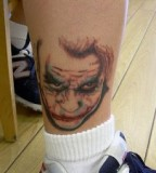 Cute Joker Tattoo For Men