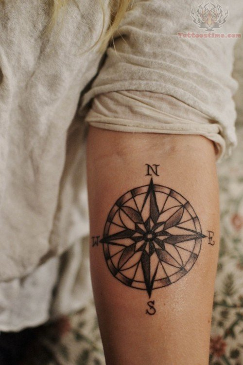 Nautical Compass Tattoo Design For Men Tattoomagz Tattoo
