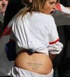Funny Tattoo Design for Lower Back Women
