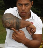 Manu Tuilagi Arm Tattoo Design