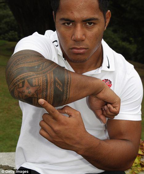 Manu Tuilagi Arm Tattoo Design