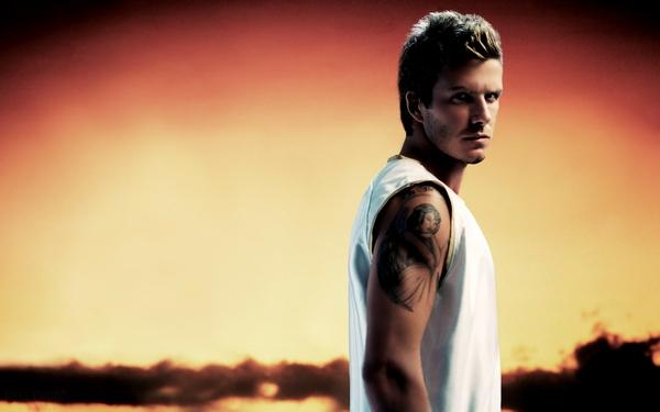 Tattoos for Men Inspiration from David Beckham Athletes Football Stars