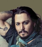 Johnny Depp Tattoo Design for Men